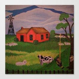 Peaceful Farm Canvas Print