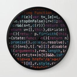 Code IT Wall Clock