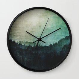 Great mystical wilderness Wall Clock