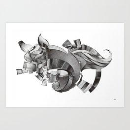 La sagra dell'inconscio Art Print