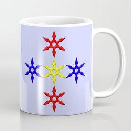 Shuriken Design version 2 Coffee Mug