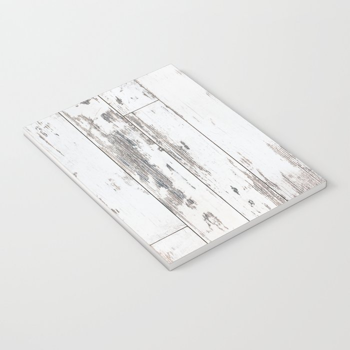 White Wood Notebook