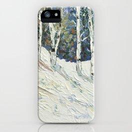 Four Season Collection - Winter  iPhone Case