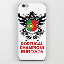 Portugal Champions Uefa Euro 2016 iPhone Skin