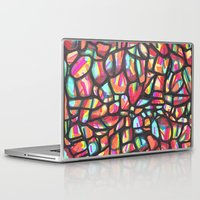 folk Laptop & iPad Skins featuring Folk by k_c_s