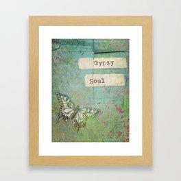 Gypsy Soul Framed Art Print