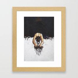 Bleed Love Framed Art Print
