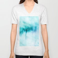 Abstract Waterfall Unisex V-Neck