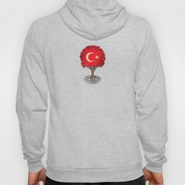 Vintage Tree of Life with Flag of Turkey Hoody