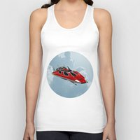 spaceship Tank Tops featuring Spaceship by Design Windmill
