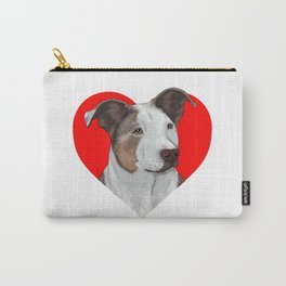 Pit Bull Heart Carry-All Pouch