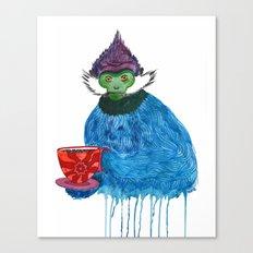 Langur Tea Monkey Canvas Print