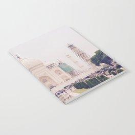 Beautiful man-made wonder Taj Mahal Notebook