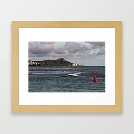 Diamond Head 01 Framed Art Print