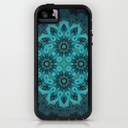 """Mermaid's Dream Mandala (created from the painting """"The Gift"""") iPhone Case"""