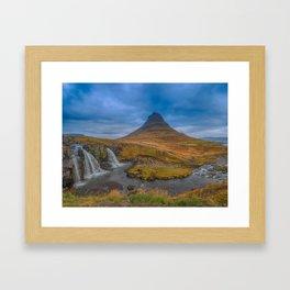 Kirkjufell. Framed Art Print