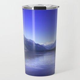 McDonald Lake In Glacier National Park Travel Mug