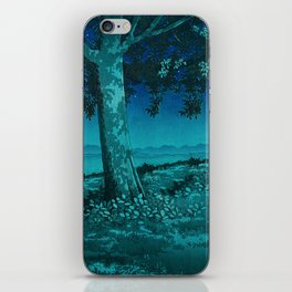 Nightime in Gissei iPhone Skin