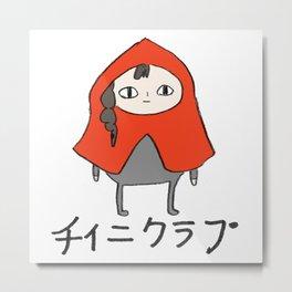 tinyclap logo Metal Print