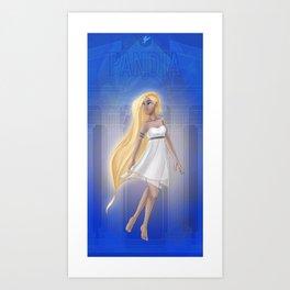 Greek Goddesses - Pandia Art Print