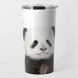 Baby Panda Portrait Travel Mug