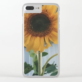 Sunny Smiles Clear iPhone Case