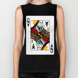 Queen Regan Biker Tank