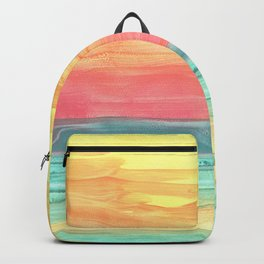 Super Sunrise by J Galla Backpack