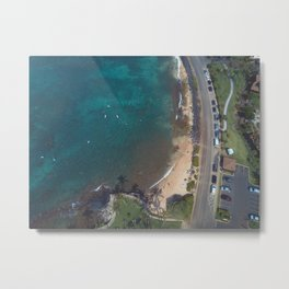 a lot going on down there Metal Print
