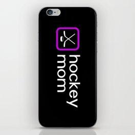 Hockey Mom (Purple) iPhone Skin