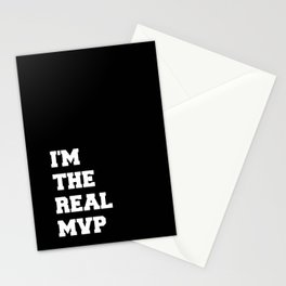 I'M THE REAL MVP Stationery Cards
