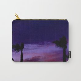 Palm Sunset - 9 Carry-All Pouch