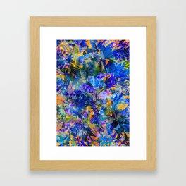 Pacific Kelp Forest Framed Art Print
