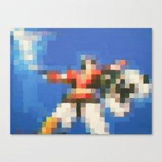 8-Bitron Canvas Print