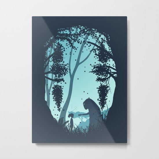 Lonely Spirit Spirited Away Metal Print
