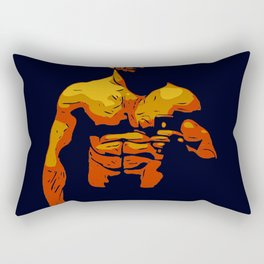 Man B2 Rectangular Pillow