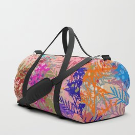 Floral abstract(52). Duffle Bag