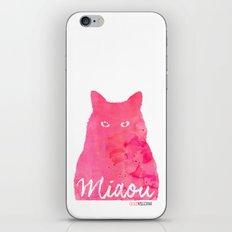 MIAOU rose iPhone & iPod Skin