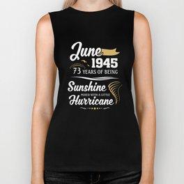 June 1945 Sunshine mixed Hurricane Biker Tank
