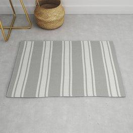 Grey striped pattern Rug