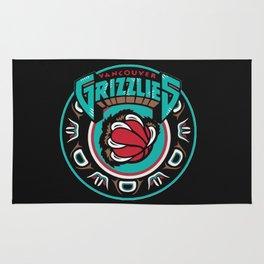 VancouverGrizzlies Logo Rug