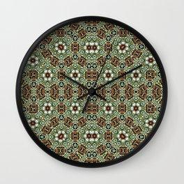 Oriental Pattern 8 Wall Clock