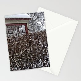 Bricks and Bushes Stationery Cards
