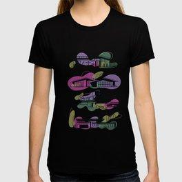 Honey, I'm Home! (Rhapsody Purple) | @makemeunison Digital Art T-shirt