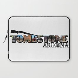 Tombstone Arizona Big Letter Laptop Sleeve