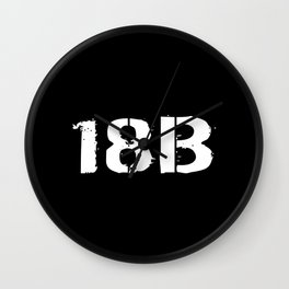 18B Special Forces Wall Clock