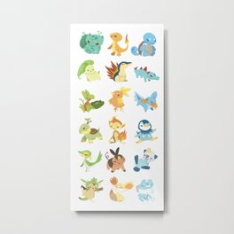 Choose your starter Metal Print