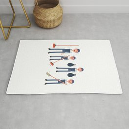 Today Is National Clean Up Day Rug
