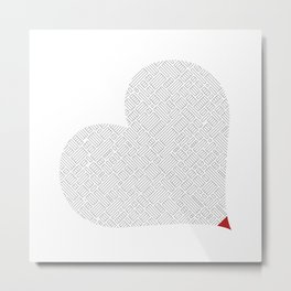 Heart (15) Metal Print