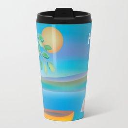 Haiti - Skyline Illustration by Loose Petals Travel Mug